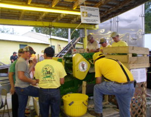 Sweet Corn Festival Corn Booth