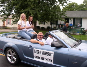 Millersport Mayor Gary Matheney